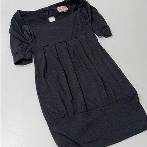 Grey Sweater Dress (Size S)